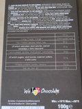 Chocolate bar 100g  DARK 72% ALMONDS_
